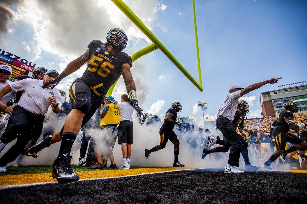 Missouri Football vs South Dakota State - August 30, 2014(Photo by Ben Walton)