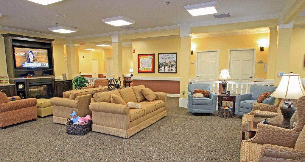 Addington Place Living Room