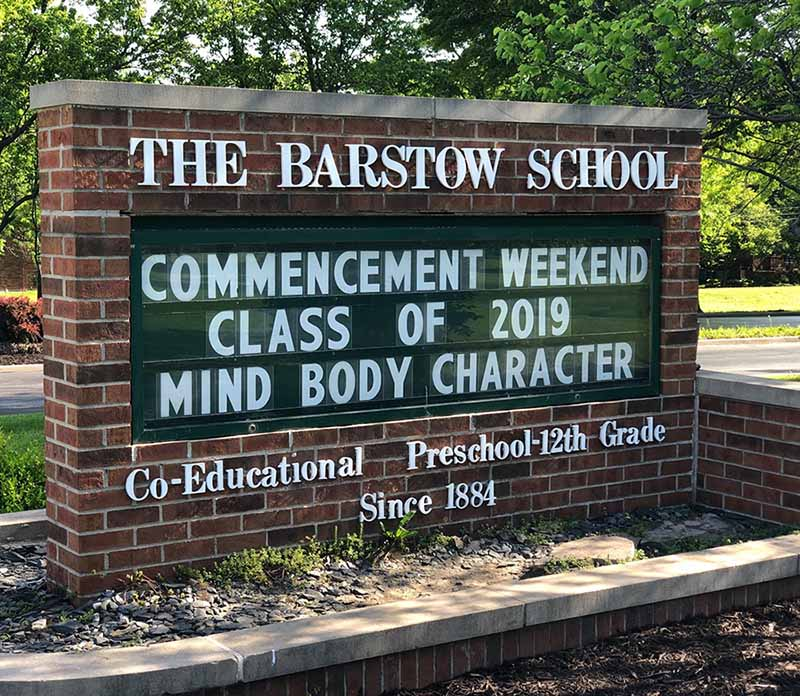 The Barstow School