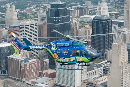 Children's Mercy Helicopter