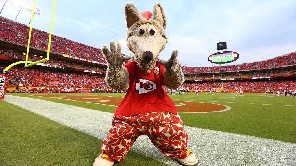 Beloved Mascot - KC Wolf