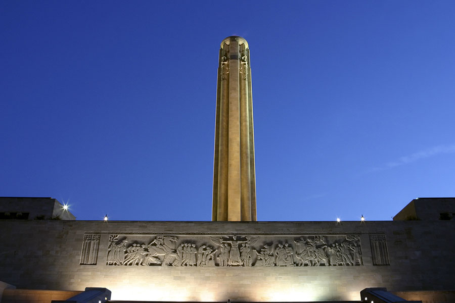Liberty Memorial and the Great Frieze