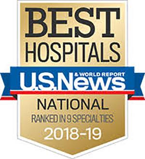 University of Kansas Hospital US News Ranking