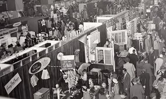 KC HBA Historical Photo of Home Show