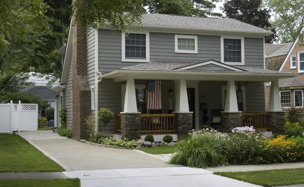 Middle Class American House